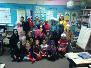 Halloween class 1