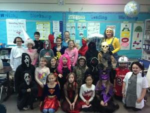 Halloween class 4